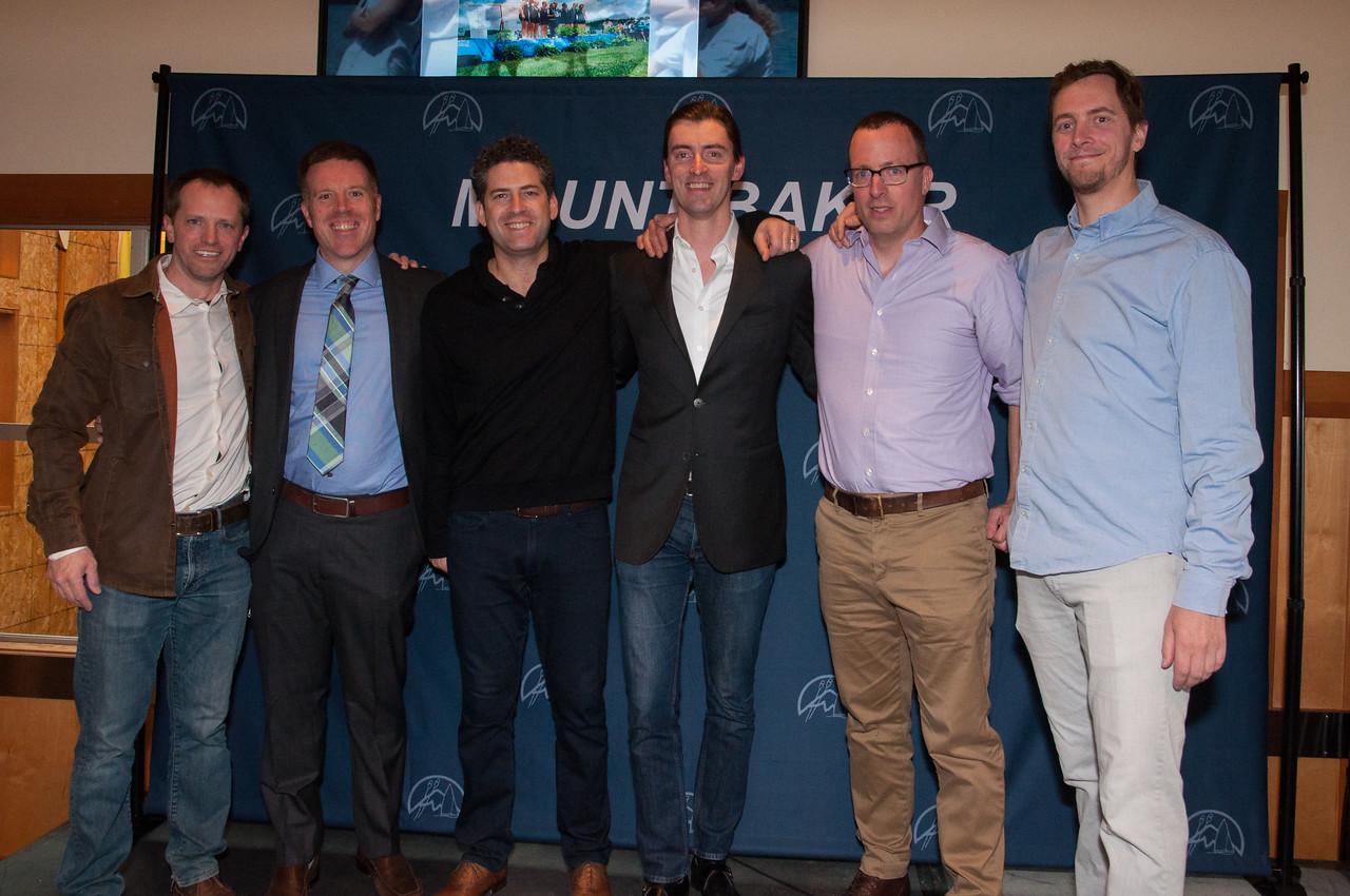 '93 Men's National Champions l-r WT Arnold, Lindsay Lawrence, Jon Melber, Ryan Benedict, Ian  Adams, Carl Bolstad