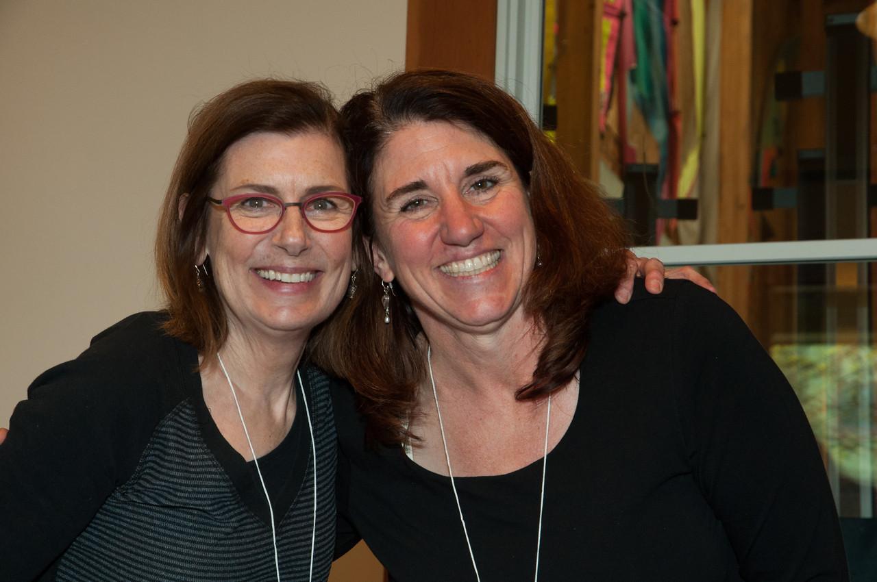 Barb Moravec and Melissa Pailthorp