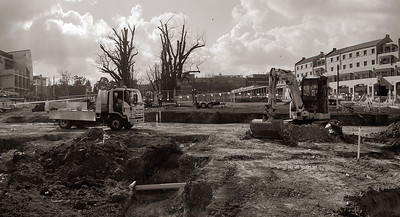 University Park being rebuilt