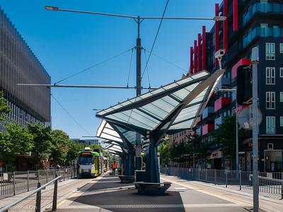 Unimelb - main tram stop