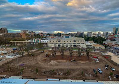 Evening panorama, University Park.