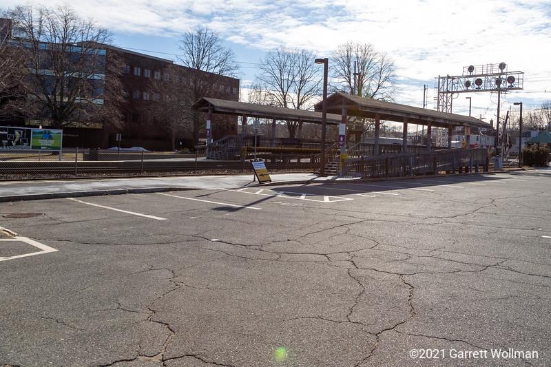 Brandeis/Roberts station