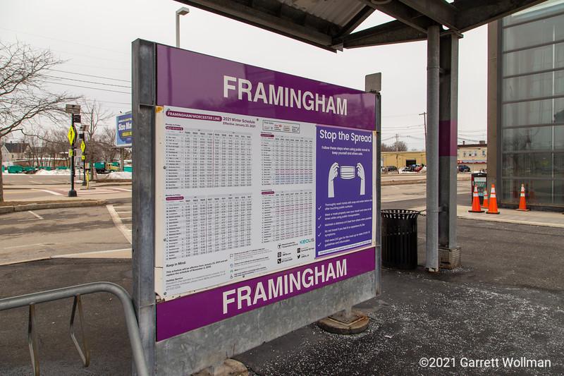 Framingham station