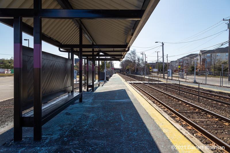 Dedham Corporate Center/128 station