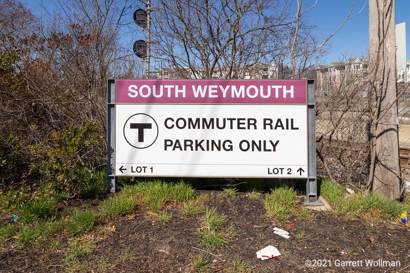 South Weymouth station