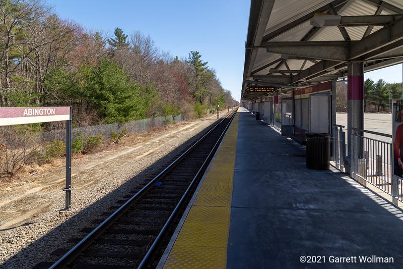 Abington station