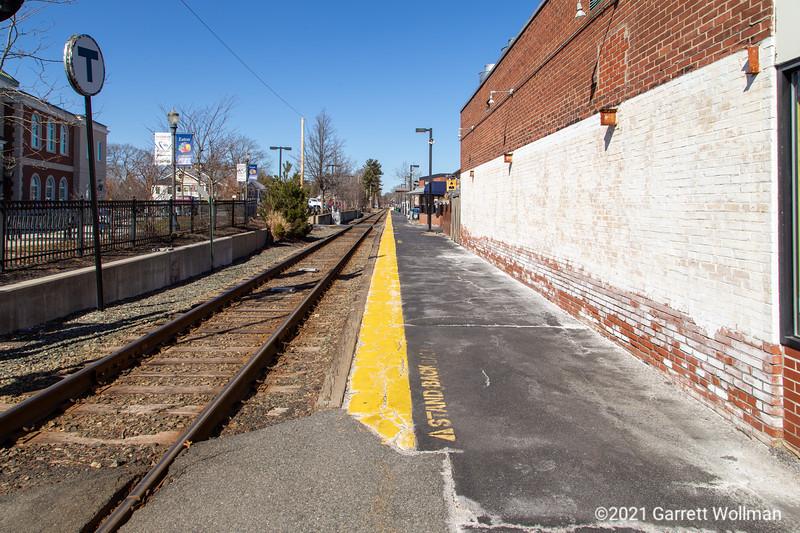 Needham Center station