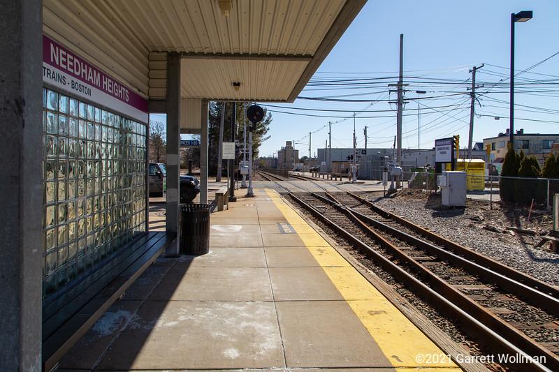 Needham Heights station