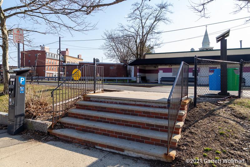 West Medford station