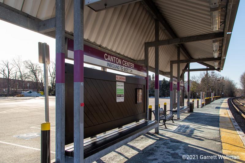 Canton Center station
