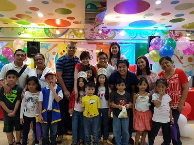 ryel's 7th birthday @ fishermall playland