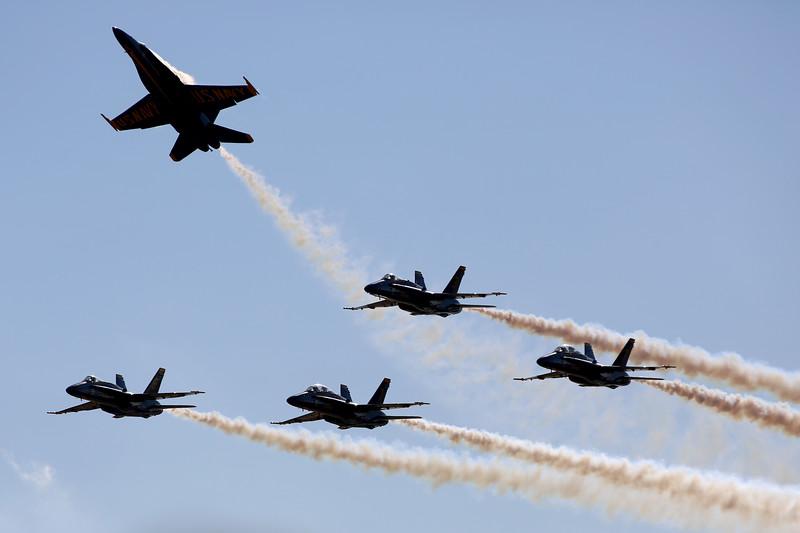Blue Angels, Marine Corps Air Station Miramar, California