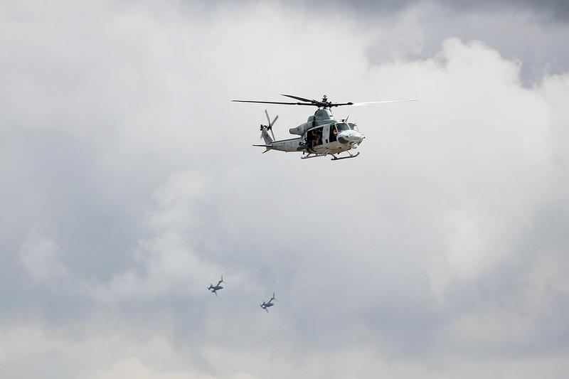 UH-1Y Venom, V-22 Osprey, Marine Corps Air Station Miramar, California