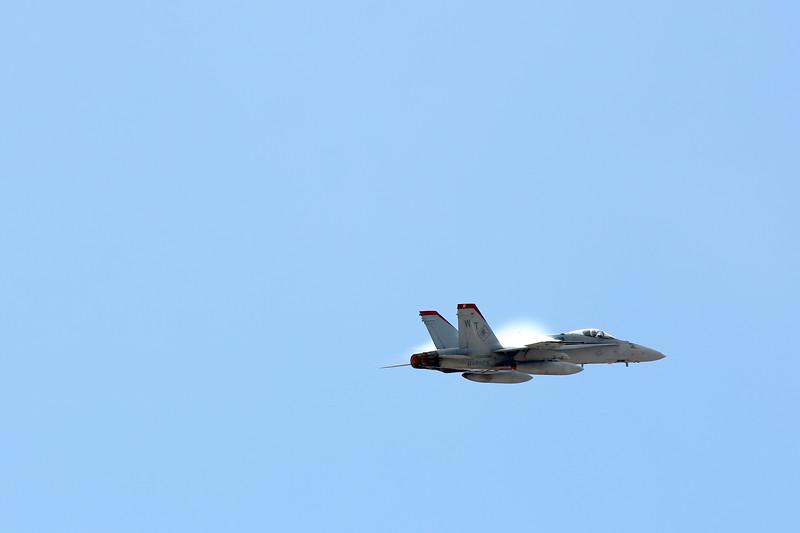 F/A-18 Super Hornet, Supersonic, Marine Corps Air Station Miramar, California