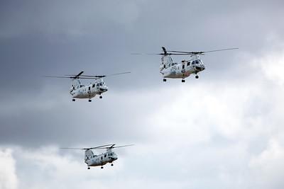 CH-46 Sea Knight, Marine Corps Air Station Miramar, California
