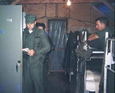 Security hut-Da Nang 1966