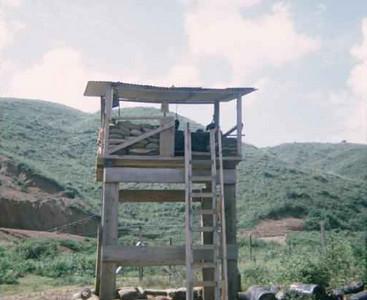 Security tower-Da Nang 1966