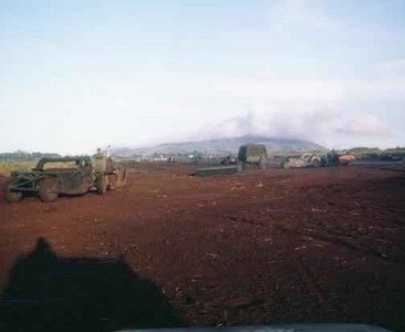 Building the airstrip-Khe Sanh 1966