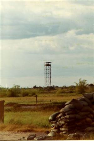 Tower at QT base.