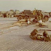 Repairing Rocket damage to the Helo Pad-Quang Tri the Day Grigsby Left fo Home-He's Very Short