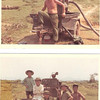 Glenn Grigsby and Vietnamese Cowboys Near Camp Evans 68-69