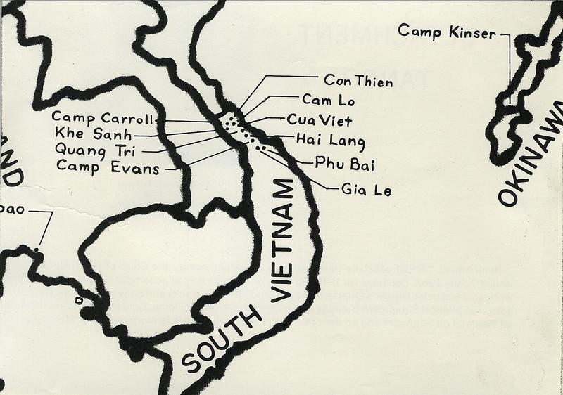 Area Map - I Corps