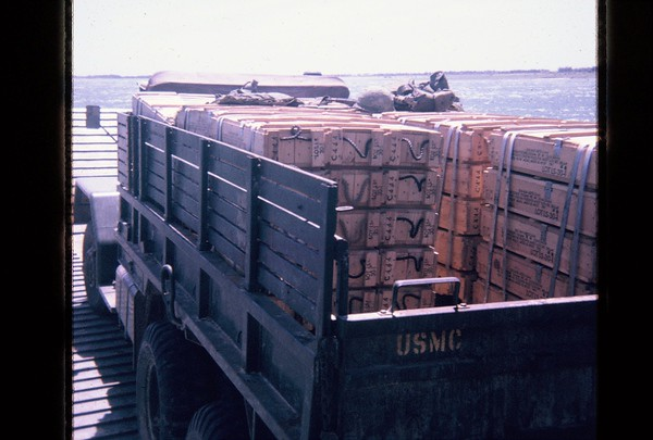 Cua Viet River with Ammo Truck-1967