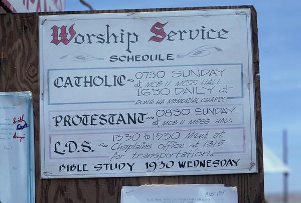 Camp Barnes Church Services-1967