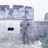 Ens. Geibel at Old French Fort-Da Nang 1966