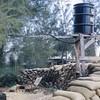 Outside Shower-Camp Adenir, 1966