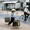 Carrying Vegatables to Local Market-Da Nang 1966
