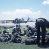 MCB-11 Checks 782 Gear at Clark AFB on way to Quang Tri, 1968