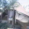 Ens. Bruce Geibel's Tent Camp Adenir, 1966