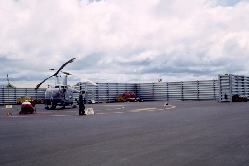 Completed Aircraft Revetment-Quang Tri 1968