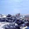 Debris From C-130 Crash Landed with MCB-11 Seabees On Board-Quang Tri 1968