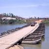 Pontoon Bridge Crossing Quang Tri 1968