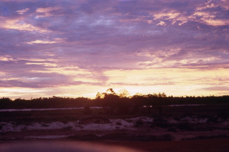Sunset in Quang Tri-1968