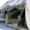 Ltjg. Geibel's Living Tent-Quang Tri 1968