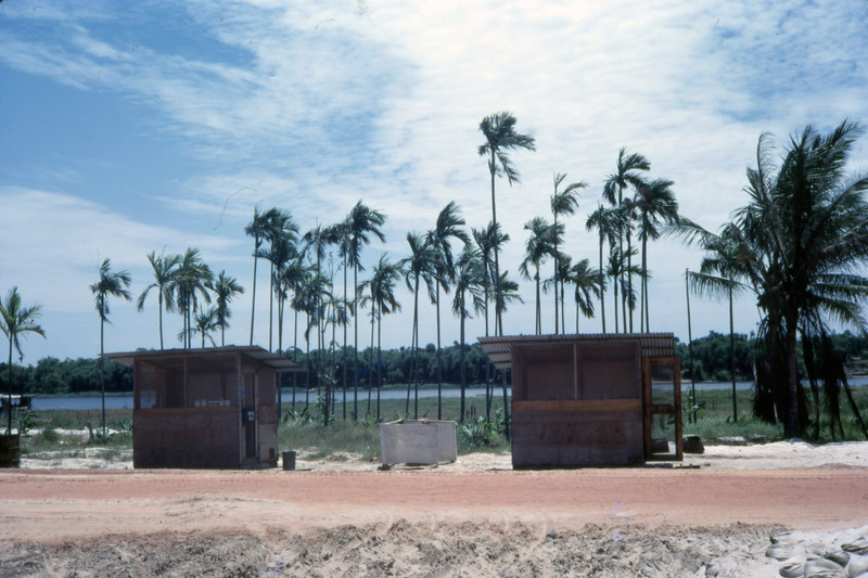 Two 2-Hole Outhouses-Quang Tri 1968