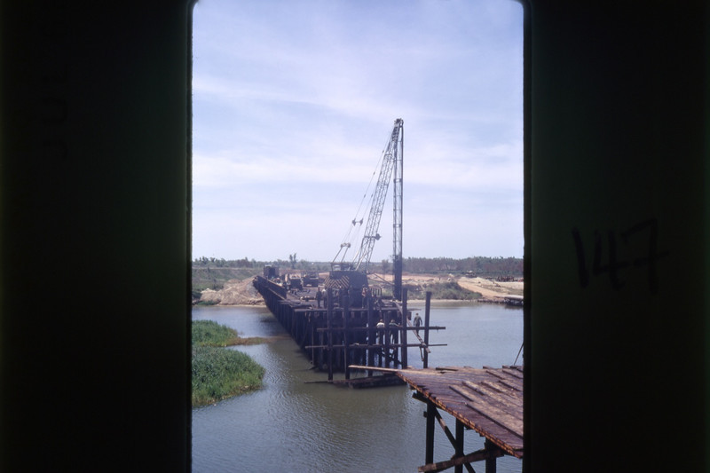 Sapper Damaged Route 1 Bridge-Quang Tri 1968