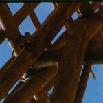 Gable Roof for the EM Club-Camp Adenir 1966