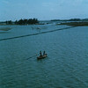 Danang River Basin With Fishing Nets 1966