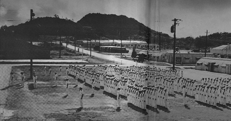 Muster In Front Of Ops 1964