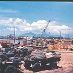 Marine Mules Ready To Be Loaded By The Crane