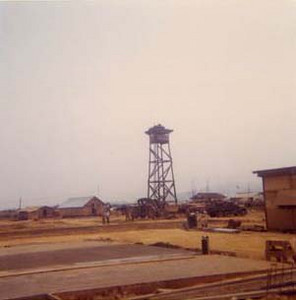 ROK Marine Compound at Dien Ban. Seabee Improvements (Watchtower & Concrete Pad) at the Firebase