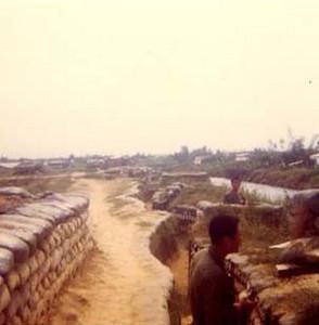 ROK Marine Perimeter Defenses at Dien Ban