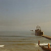 LST Leaving Dock