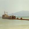 Unloading LST at Haskins