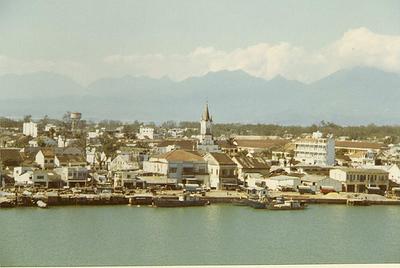 Da Nang from the Da Nang River