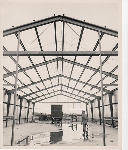 1968 Metal building construction.